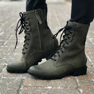 NEW • Sorel • Phoenix Lace Up Combats Boots 7.5
